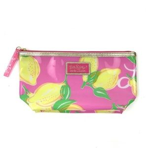 Lilly Pulitzer Estée Lauder Zip Top Cosmetics Bag